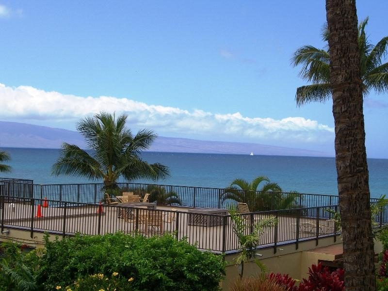VIEW OF THE ISLAND OF LANAI FROM OUR LANAI - Hale Ono Loa - A Real Gem On Maui's West Side - Napili-Honokowai - rentals