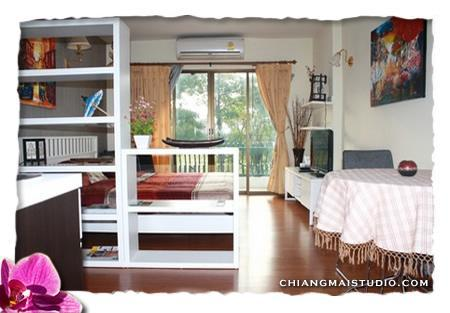 Main view of the condo - Chiang Mai rent very nice condo for 2 persons - Chiang Mai - rentals