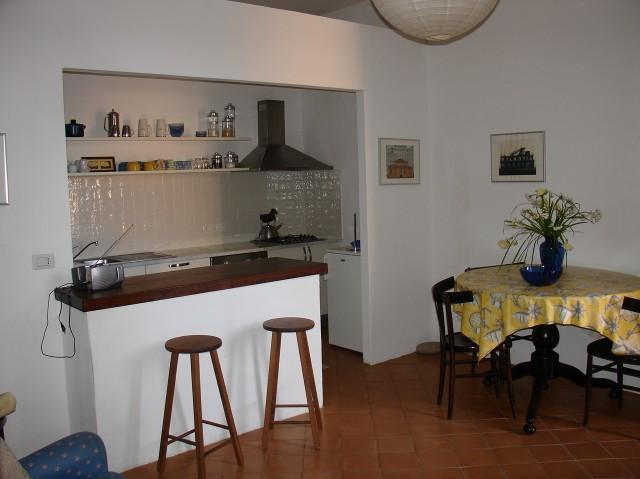 Living-dining with open space kitchen - Alghero Old Town Piazza Civica Appartment - Alghero - rentals