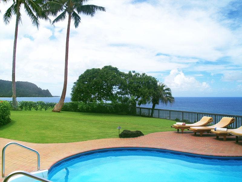 Views of famous Bali Hai or Mount Makana - Hale Makana Princeville - Spectacular Ocean Views! - Princeville - rentals