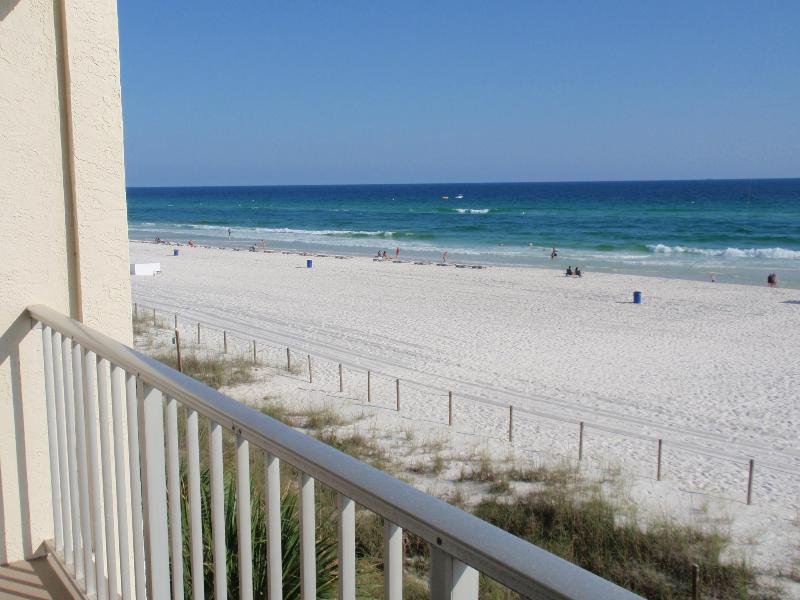 Gorgeous views from your own balcony - Gulf Front Studio-Pier Park-Low Floor-Amazing View - Panama City Beach - rentals
