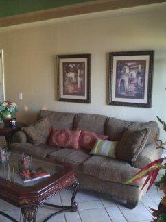 living room - SPECIAL $125.00 a nt 2b/2b Oceanview/Water Slide - Puerto Penasco - rentals