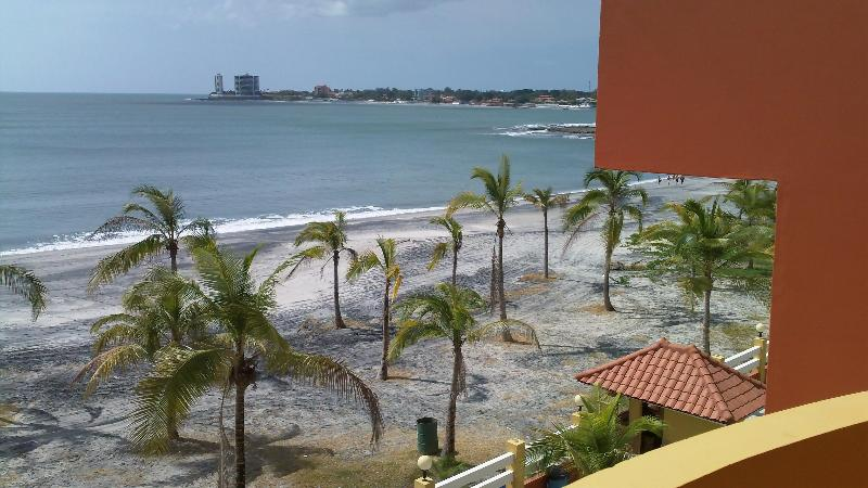 Beach view from sundeck - Beachfront Apartment with Mountain views, too! - Panama Province - rentals