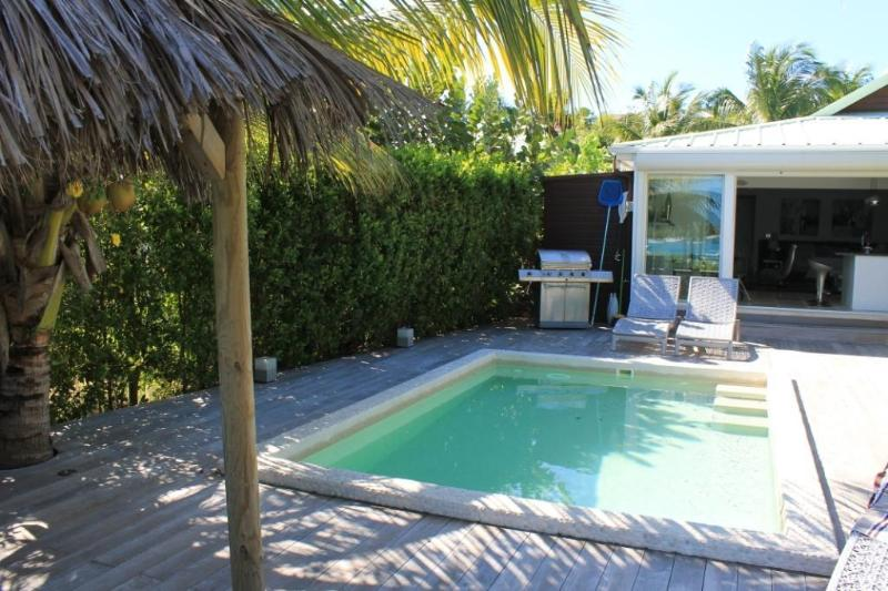 Pool & Terrace Area - Waterfront Modern Villa + Private Pool - Saint Martin-Sint Maarten - rentals