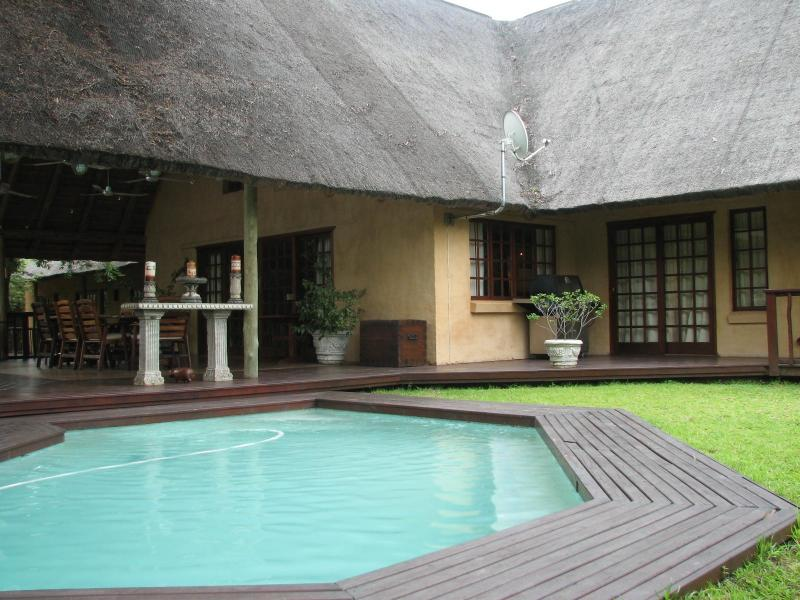 Pool  - Needles Lodge The Magic of the African Bush - Marloth Park - rentals