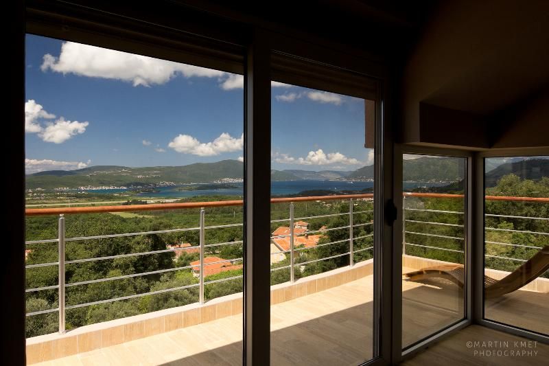 View from the Masters bedroom - Exclusive Condo, 180 Sea views, Spa, Pool & Sauna - Tivat - rentals