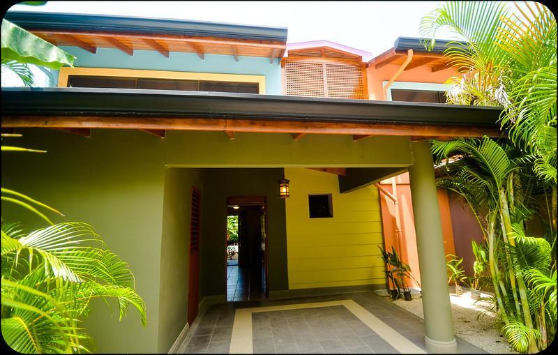 main entry, car port, washer and dryer room - The Beach House - Nosara - rentals