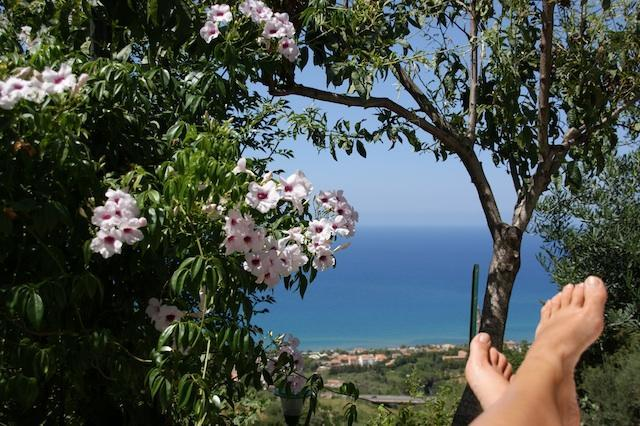 ENJOYING THE VIEW - SICILY COUNTRY COTTAGE OVERLOOKING CEFALU' S BAY . - Cefalu - rentals