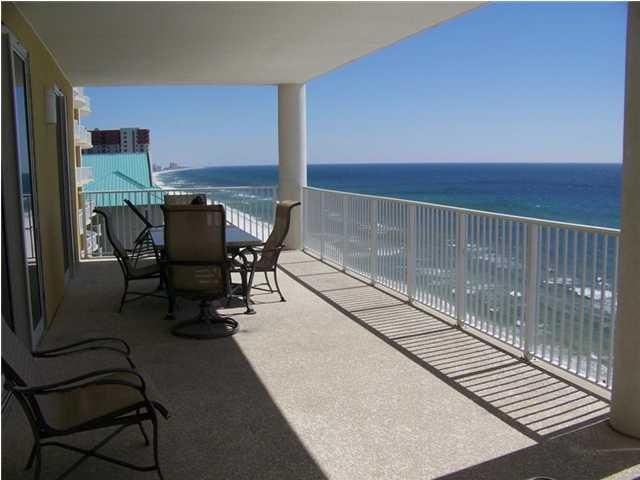 Ocean Ritz 10th floor balcony - Ocean Ritz - Four bedrooms, 4 baths.  $367/night including all but parking and wrist bands.. - Panama City Beach - rentals