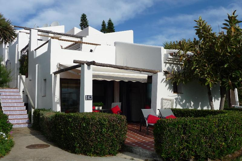 Our apartment with terrace and garden furniture. - Costa Natura,NATURISM,Costa del Sol, 100% sea view - Estepona - rentals