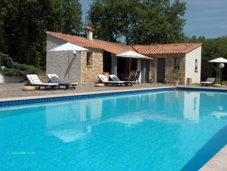 "Superb pool house 48 feet by 18 (16mX6) - ""La  Devinière"" - Grignan - rentals"