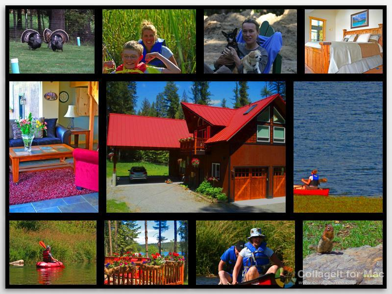 Spacious LAKEFRONT LODGE -  2 Jetted Tubs - Serene - Image 1 - Spokane - rentals