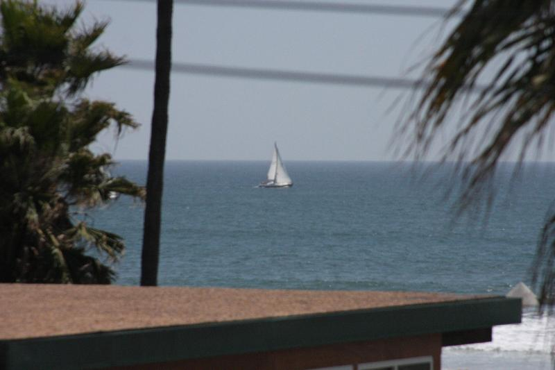 Beautiful Ocean View with sail boat from roof deck - Sparkling Pristine Luxury Seconds to Venice Beach - Venice Beach - rentals