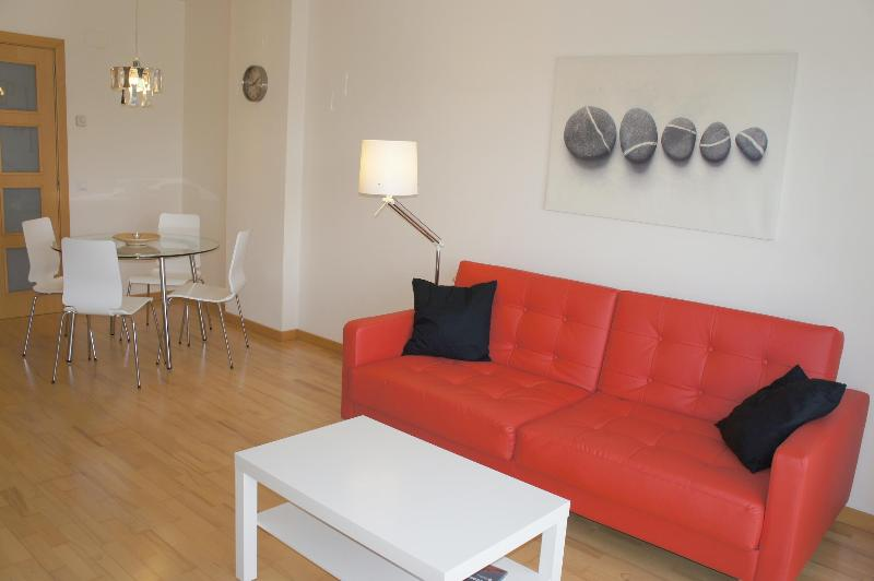 Sofa bed, very comfortable - The Feng Shui Apartment in Girona city - Girona - rentals