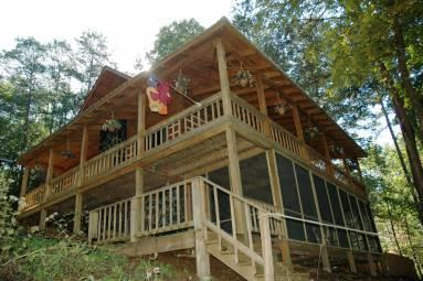 Sugar Creek Chalet - Image 1 - Blue Ridge - rentals