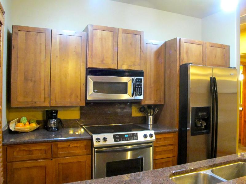 Gorgeous kitchen with granite, stainless appliances and all the ammenities of home. - Spacious/Stylish Main St. Sanctuary.Views.Location - Pagosa Springs - rentals