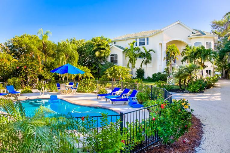 View of the Front of the House - Beautiful Bayside Couples Retreat In Captiva FL! - Captiva Island - rentals