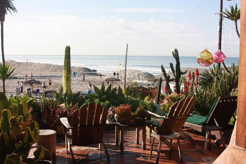 PatioView - Beach Front Vacation Home on Moonlight Beach - Encinitas - rentals