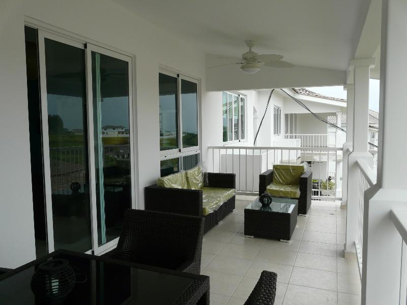 Balcony  - BIJAO  BEACH 3 BEDROOMS - Panama City - rentals