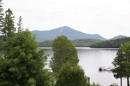 View of lake & Whiteface Mountain - Lake Front-Sleeps 9; Specials Now start at $400pn - Lake Placid - rentals