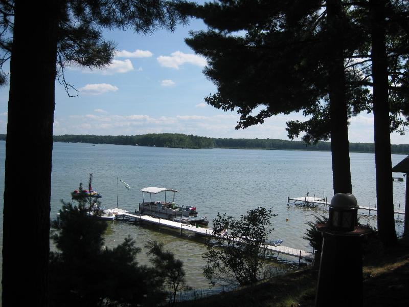 View from front windows - Rustic Charm on West Twin Lake, Lewiston, 4 bdrm - Lee's Summit - rentals
