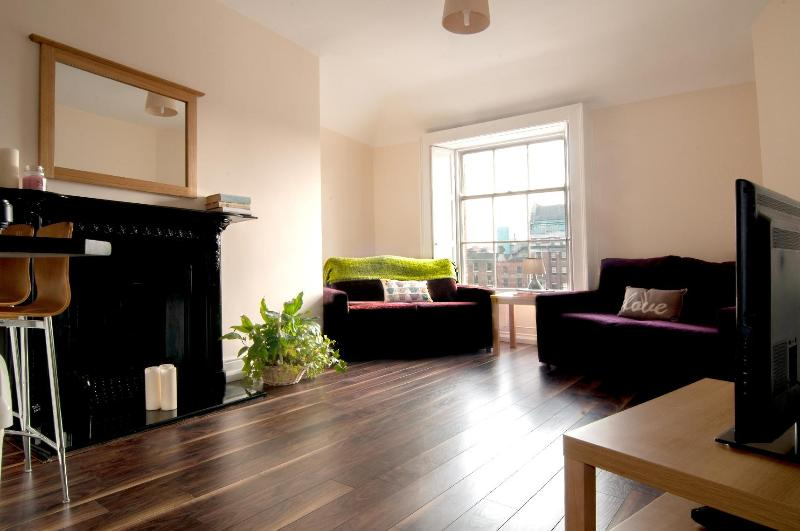 Living room - MOY 2 bed in the city - Dublin - rentals