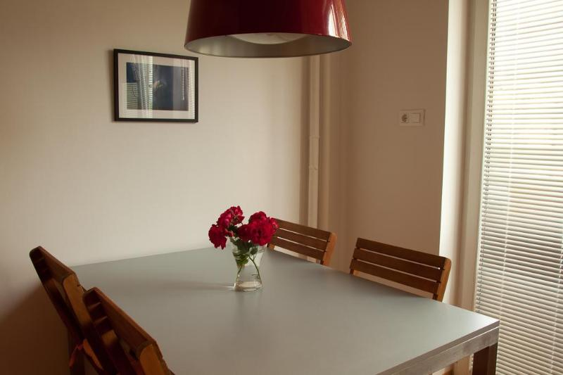 dining table in kitchen - ***Apartment close to Tivoli Arena / Eurobasket*** - Ljubljana - rentals