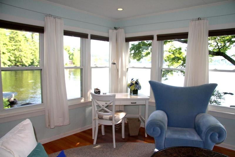 Beautiful Cozy Lake House on Sandy Private Beach - Image 1 - Franklin - rentals