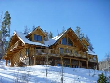 Luxury Log Home, three stories - Low Alltitude Log Cabin - Silverthorne - rentals