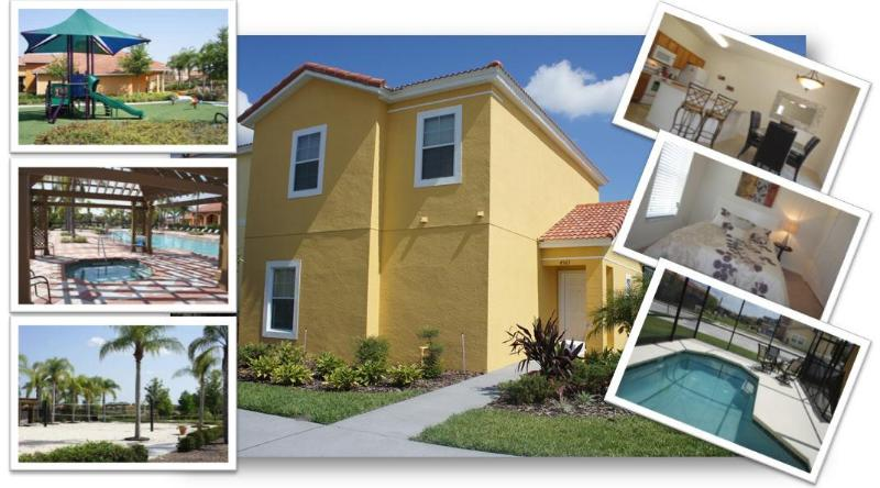 Front of the House 2 - WONDERFUL HOUSE  4 Beds | NearDISNEY | Priv.Pool - Kissimmee - rentals