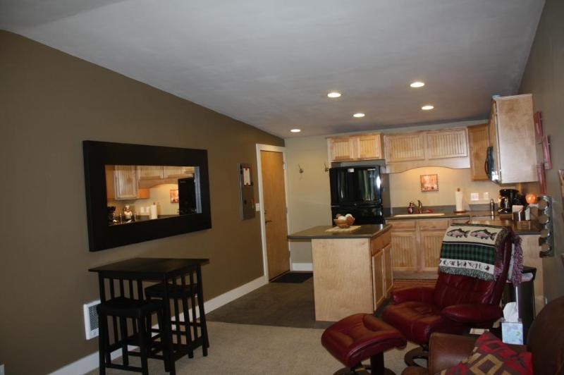 Kitchen and Family Room - Warm Springs Great Mountain Retreat 1 bd Condo - Ketchum - rentals