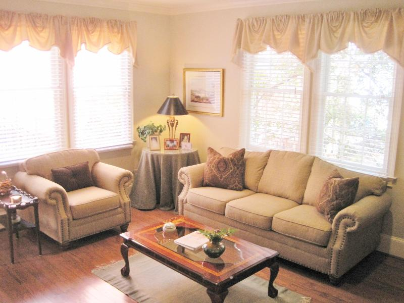 Living Room with queen sofa bed - Savannah's Prettiest St/Landmark Historic District - Savannah - rentals
