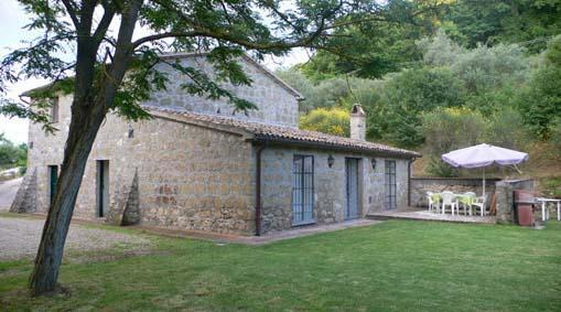 Country House Fontana Mancina - Old stone villa with a garden, panormic view - Castiglione in Teverina - rentals