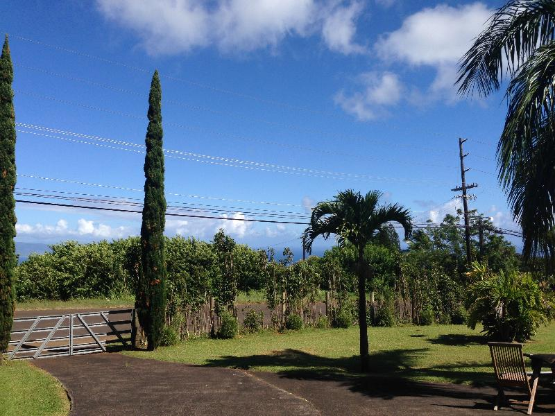 View from your front door - Aloha living, upcounty with ocean views! - Haiku - rentals