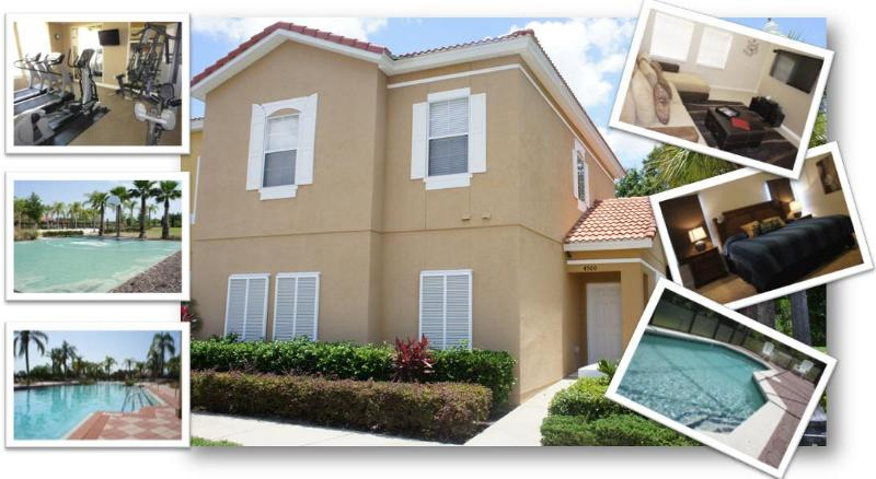 |-TIME FOR VACATION-| 4 Beds House w/ Priv. Pool - Image 1 - Kissimmee - rentals