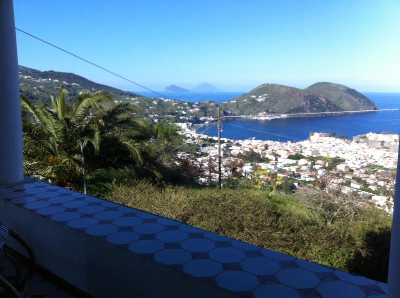 View from the terrace - Panoramic Villa In Lipari (Aeolian Islands) - Lipari - rentals