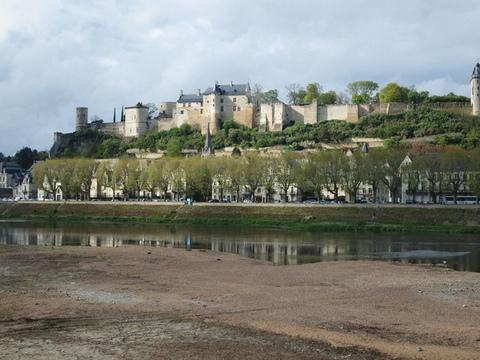 View of Chinon across the Vienne River - La Mirabeau, Chinon, Loire Valley, France - Chinon - rentals