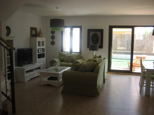 Parcial view of the living room - Great 3BR/3BA Beach House/Large/All New/Golf/Pool - Alcossebre - rentals