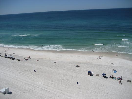 BEACH VEIW - EMERALD BEACH RESORT - BEAUTIFUL 10TH FLOOR VIEW - Panama City Beach - rentals