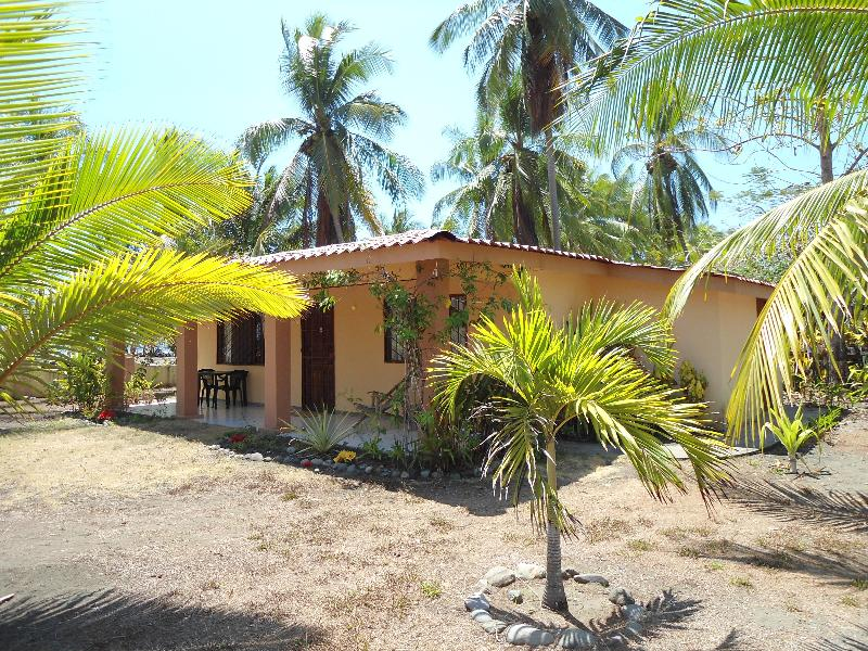 Front of house - 2 Bdrm Beachfront house on the Pacific Ocean - Palo Seco - rentals