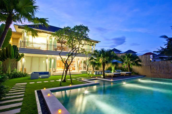 Villa &Pool view - 5 bedroom villa with river and ricefield view - Bali - rentals