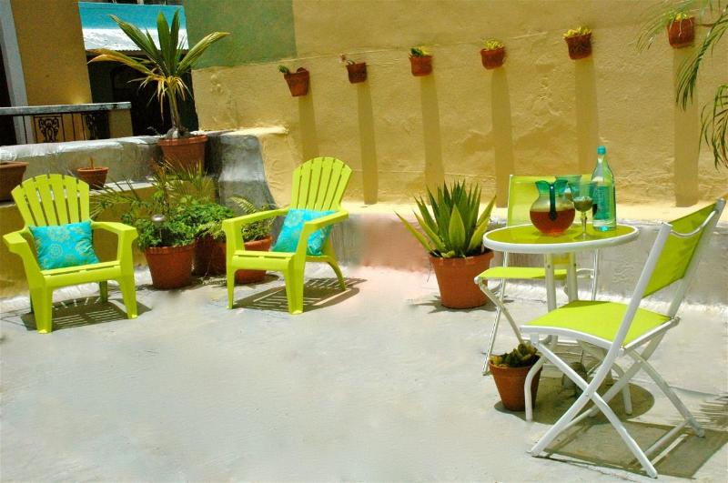 Roof Terrace - OLD San Juan 2 Bdr-Enjoy a slice of Colonial Life! - San Juan - rentals