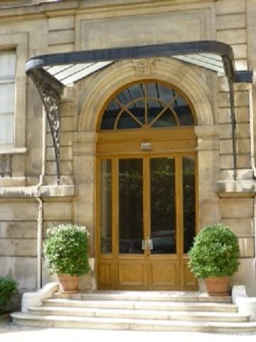 Main entrance - Amazing apartment in 7th mansion – Eiffel view - 7th Arrondissement Palais-Bourbon - rentals