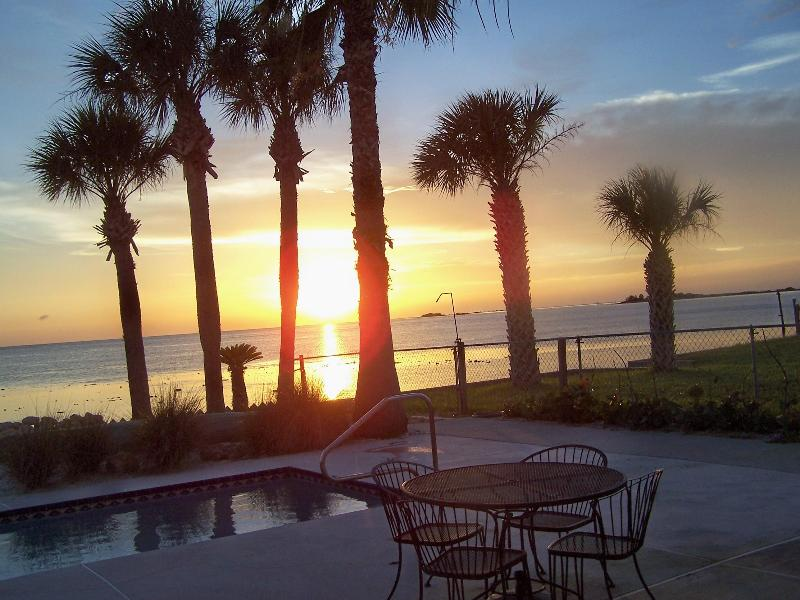 Beautiful sunsets - Touchdown Beach House with Private Pool & Beach - Hernando Beach - rentals