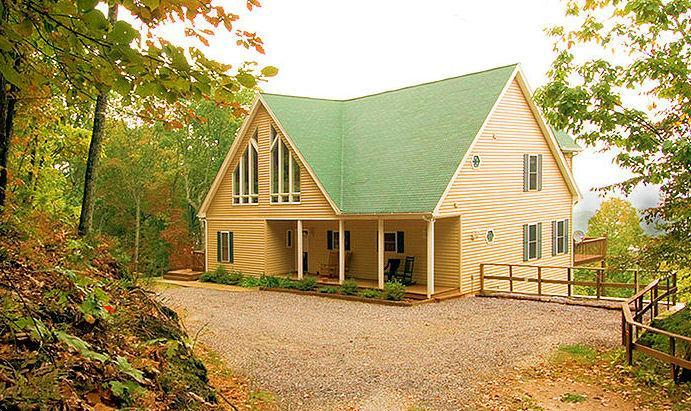 Front View - Luxury Mountain View Chalet - Helen - rentals