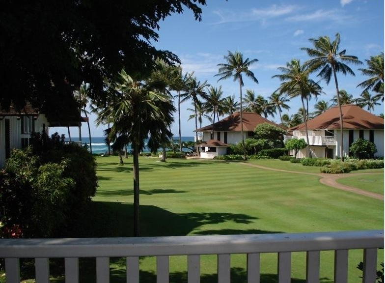 View from the Lanai. Nothing but grass between you and the ocean. - Kiahuna Plantation Ocean View Condo - Koloa - rentals