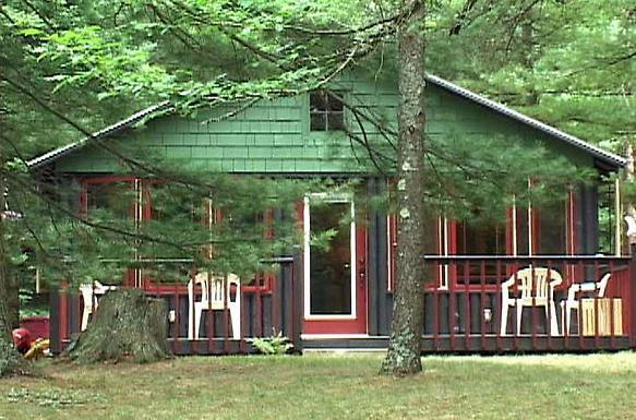 Riverbend Lodge with Hot Tub on the AuSable River - Image 1 - Mio - rentals