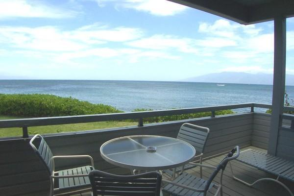 Lanai- Relaxation at its finest! - Ocean Front 3 Bedroom, 3 bath! - Lahaina - rentals