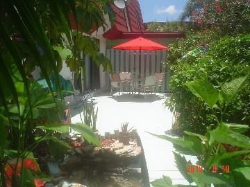 Patio Area - Beautiful, Private Southwest Florida Townhouse - Fort Myers - rentals