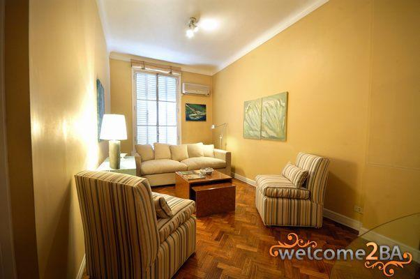 Recoleta 2 bedrooms apartment - Image 1 - Capital Federal District - rentals